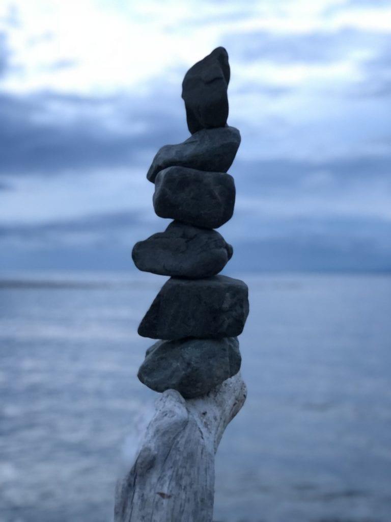 Stack of rocks - winner