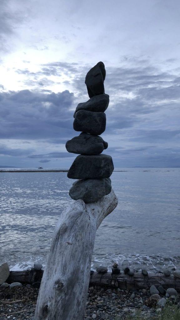 Stack of rocks v1