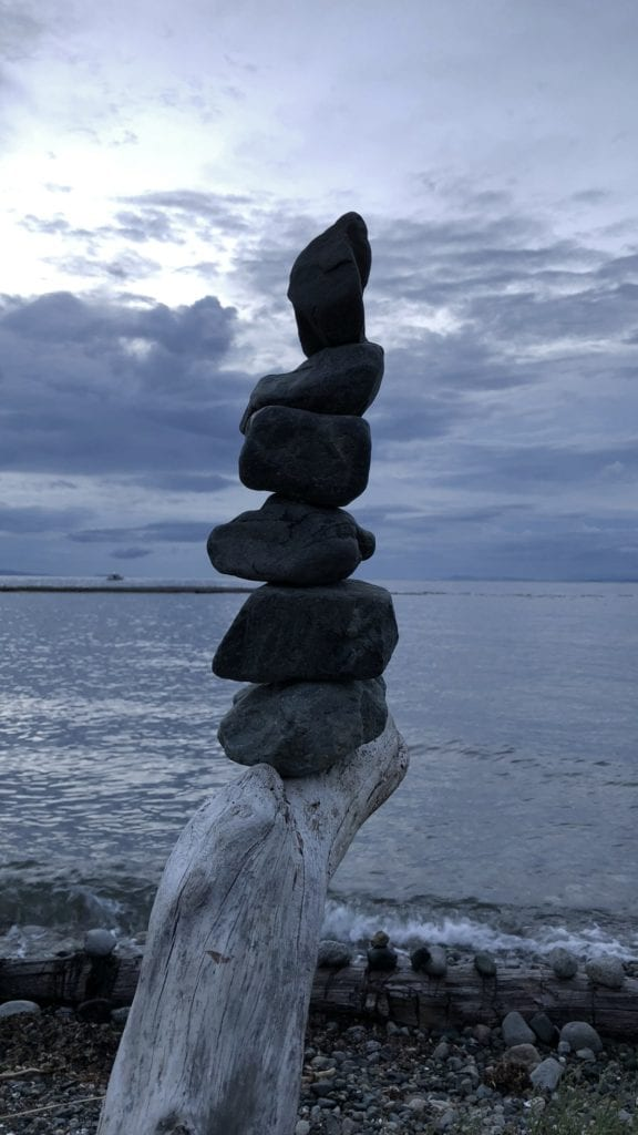 Stack of rocks v3
