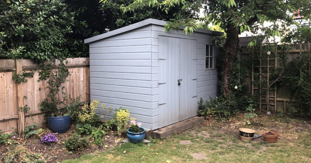 My Shed - Facebook Dimensions