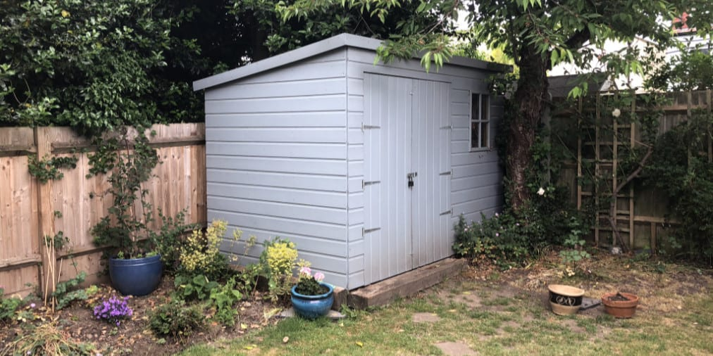 My Shed - Twitter Dimensions